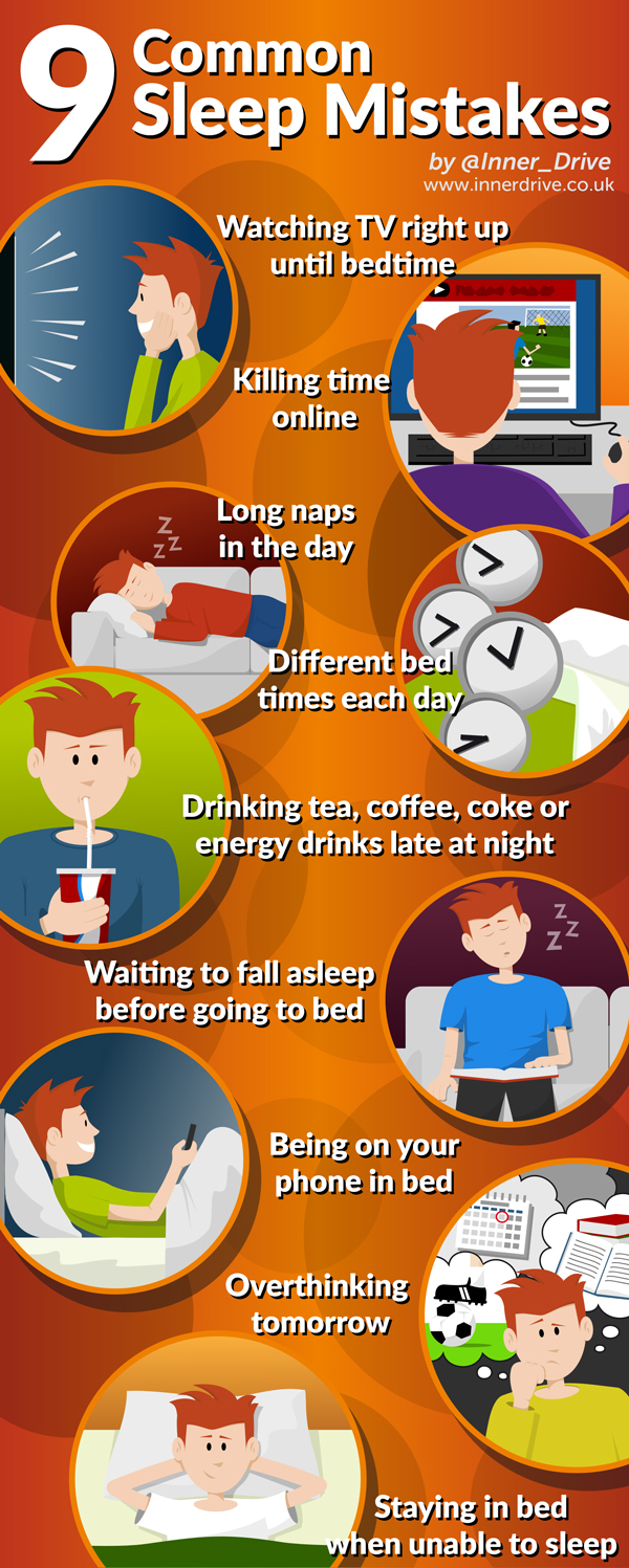 9 Common Sleep Mistakes