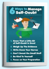6 ways to conquer self doubt