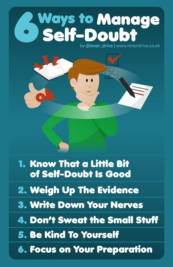 6 ways to manage self doubt