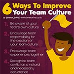 6 ways to develop a winning team culture
