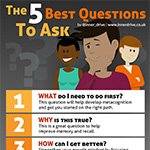 What are the 5 best questions that students can ask themselves, and why?