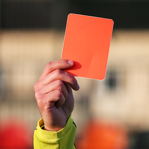 The surprising impact of red cards on footballers