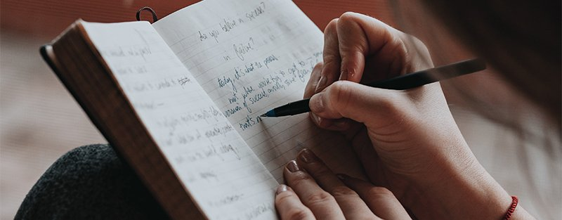 The power of putting your feelings down on paper