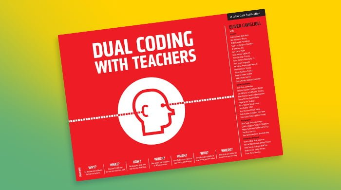 Dual Coding with Teachers, by Oliver Caviglioli